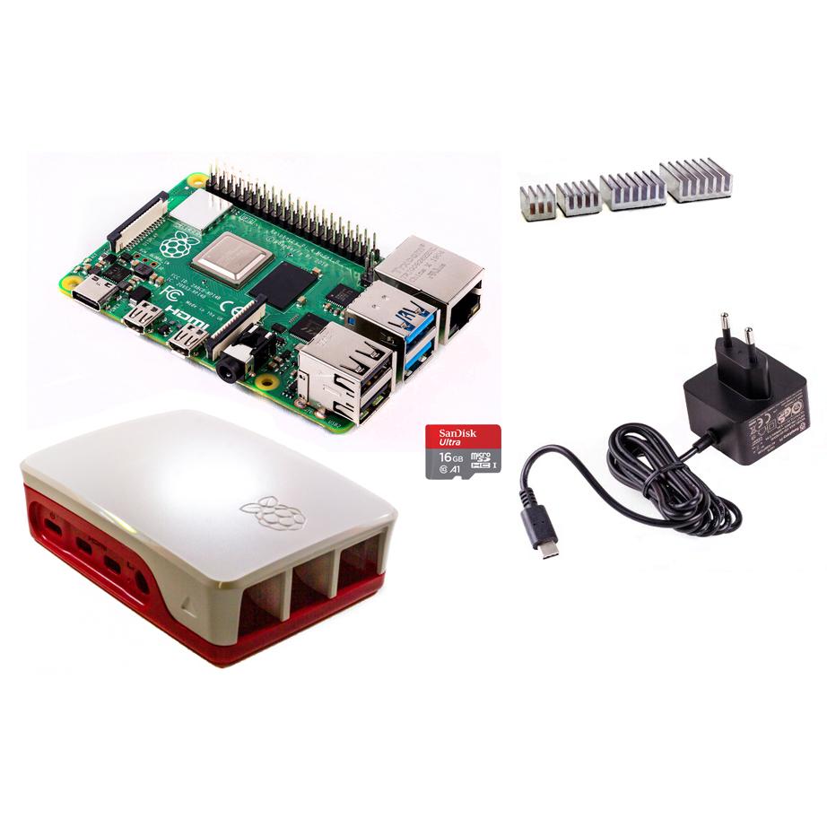 Bundle Raspberry Pi 4 Starter Set