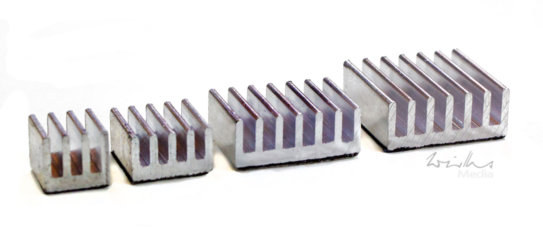 Kühlkörper für den Raspberry PI 3 und 4