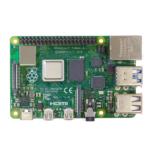Raspberry Pi 4 Computer Modell B Vorderseite